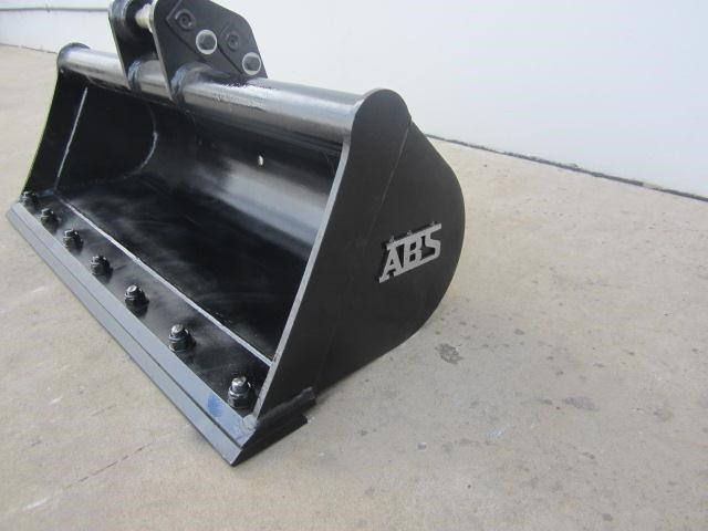 australian bucket supplies 900mm mud bucket fitted w/boe to suit 1-2t excavators 334615 004
