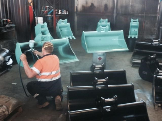 australian bucket supplies ripper tyne  to suit 1-2t excavators 316689 013