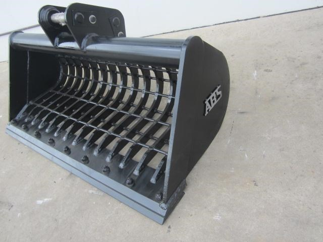 australian bucket supplies skeleton bucket fitted w/ boe to suit 3-4t excavators 316883 008