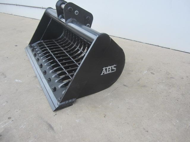 australian bucket supplies skeleton bucket fitted w/ boe to suit 3-4t excavators 316883 007