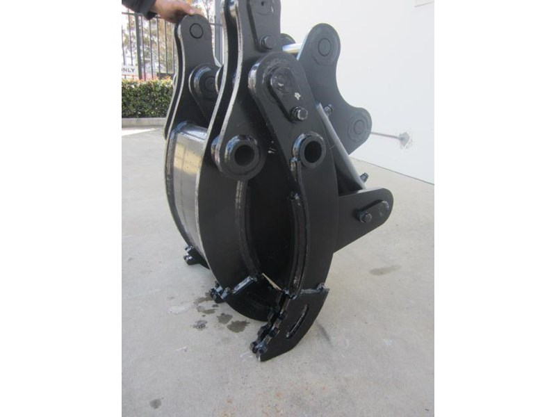 australian bucket supplies hydraulic rock grab to suit 8-10t excavators 337207 001