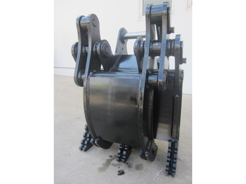 australian bucket supplies hydraulic rock grab to suit 8-10t excavators 337207 004