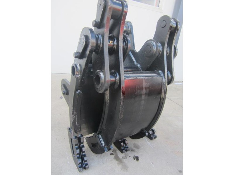 australian bucket supplies hydraulic rock grab to suit 8-10t excavators 337207 005
