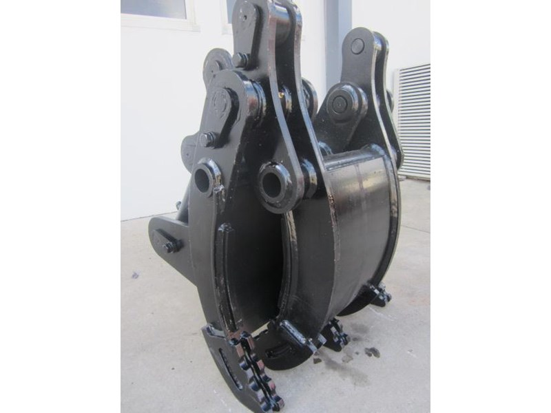 australian bucket supplies hydraulic rock grab to suit 8-10t excavators 337207 006