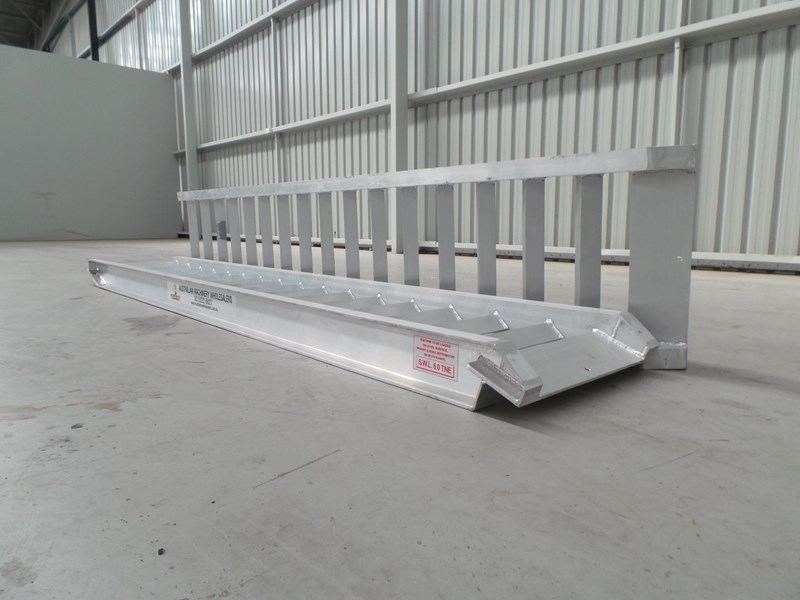workmate 6 ton alloy loading ramps 10084 003