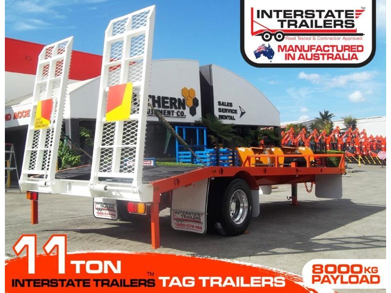 interstate trailers 11 ton tag trailer 302040 006