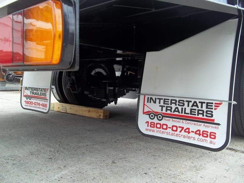 interstate trailers heavy duty 9 ton base line design tag trailers - suit skid steer loaders [attttrail] 344439 013