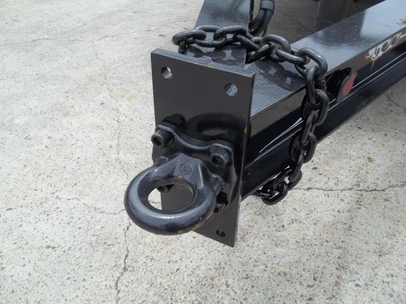interstate trailers heavy duty 9 ton base line design tag trailers - suit skid steer loaders [attttrail] 344439 015