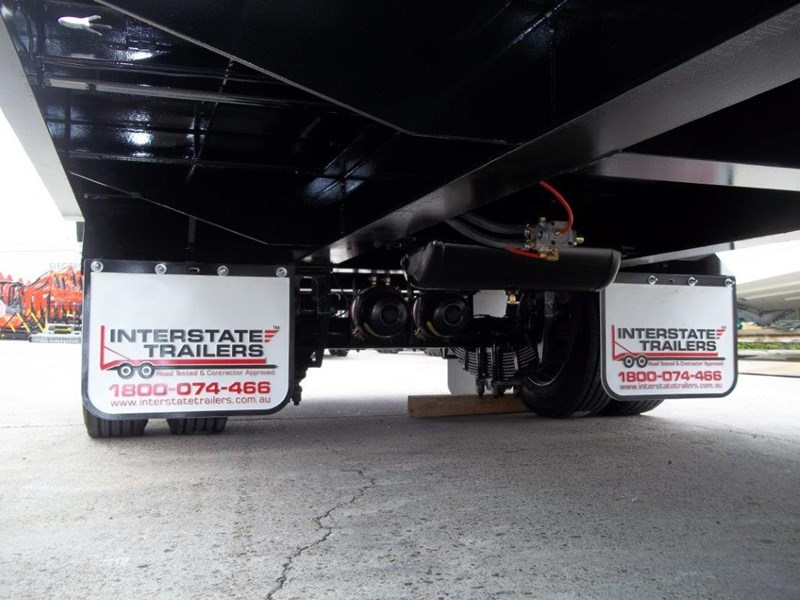 interstate trailers heavy duty 9 ton base line design tag trailers - suit skid steer loaders [attttrail] 344439 020