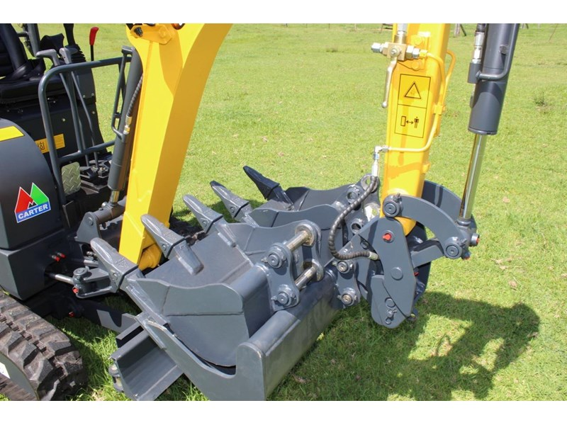 carter ct16 yanmar powered mini excavator zero swing 349469 004