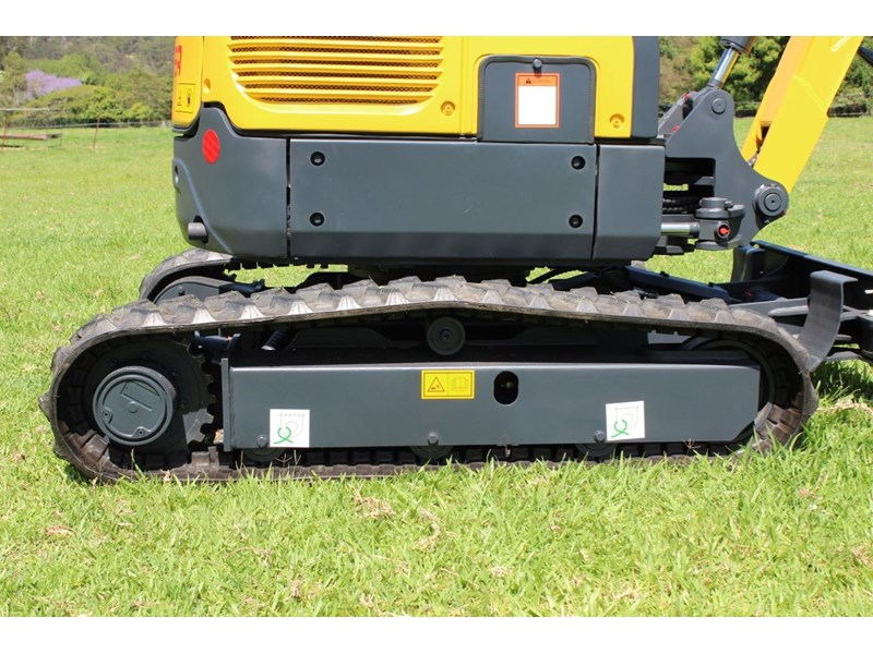 carter ct16 yanmar powered mini excavator zero swing 349469 018