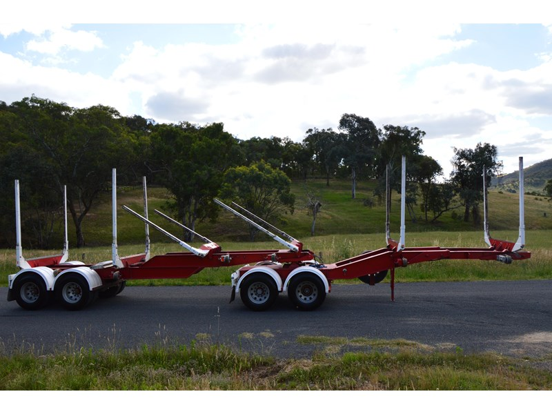 kennedy 3 bay mini b-double log trailers 351376 001