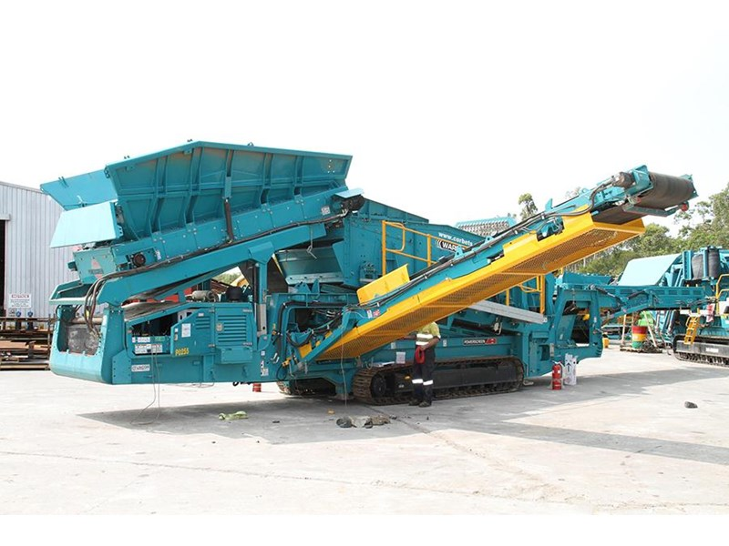 powerscreen warrior 2400 354038 001
