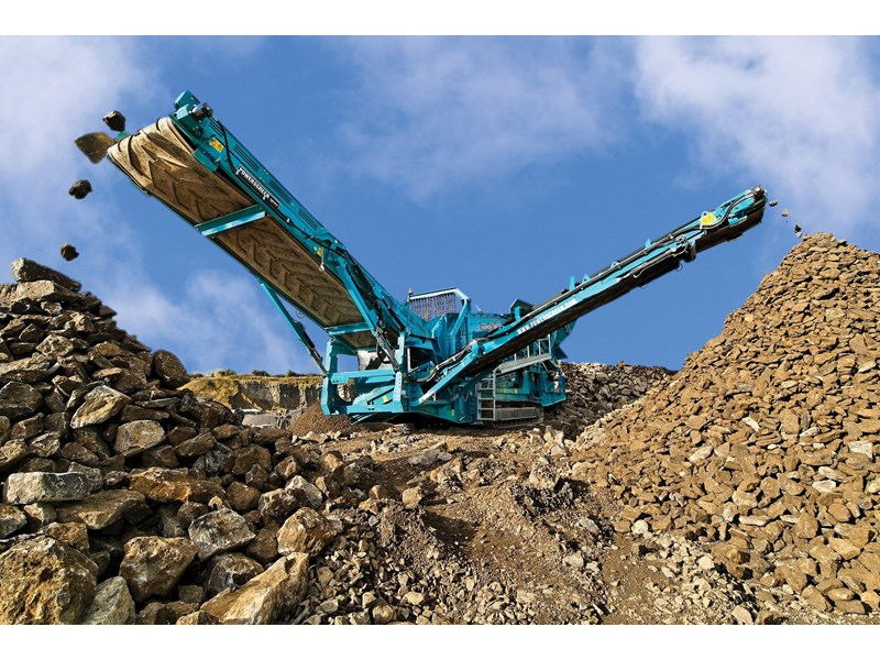 powerscreen warrior 2400 354038 002