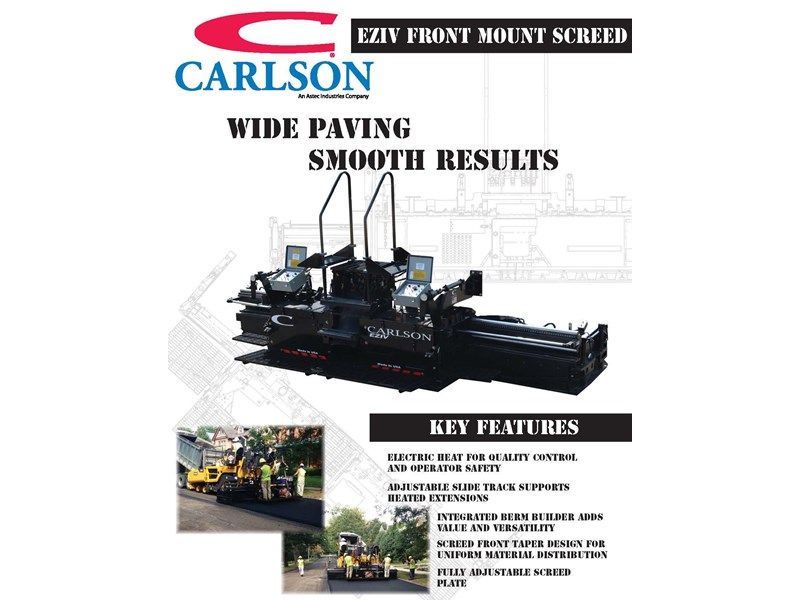 carlson easy screed eziv 10 354559 002