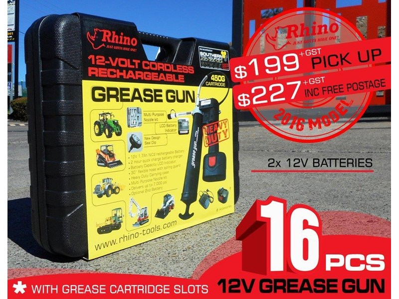 rhino - 12v grease gun 242942 003