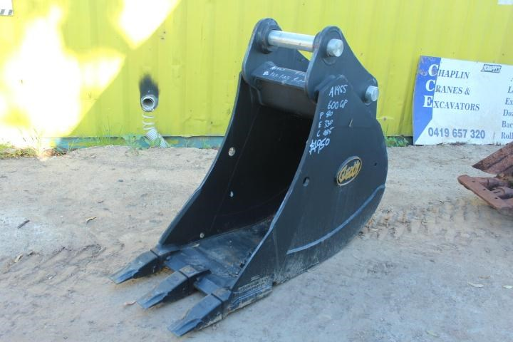 geith 600mm trench bucket suit 20t 355073 001