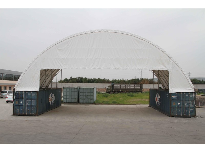 double trussed container shelter c6040d 355786 002