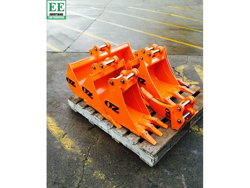 case everything earthmoving mini excavator buckets suit cx14, cx15, cx17, cx18 356795 001