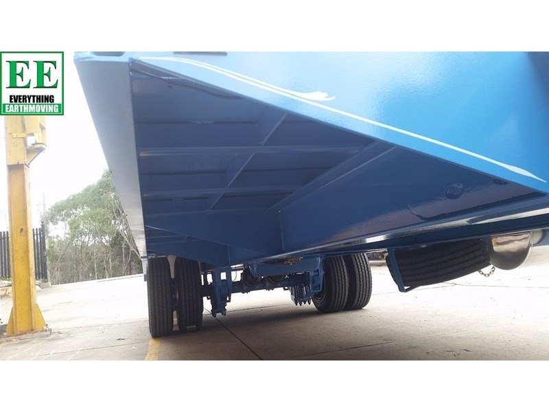 everything earthmoving 11t atm single axle tag trailer with beaver tail 357093 020