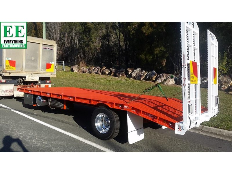 everything earthmoving trailer to suit 3-4 combo or single machine to 8 tonnes brand new 356963 002