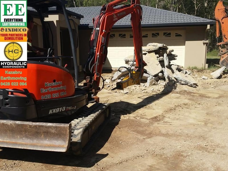 indeco hp200 whisper rock breaker from everything earthmoving 356955 009