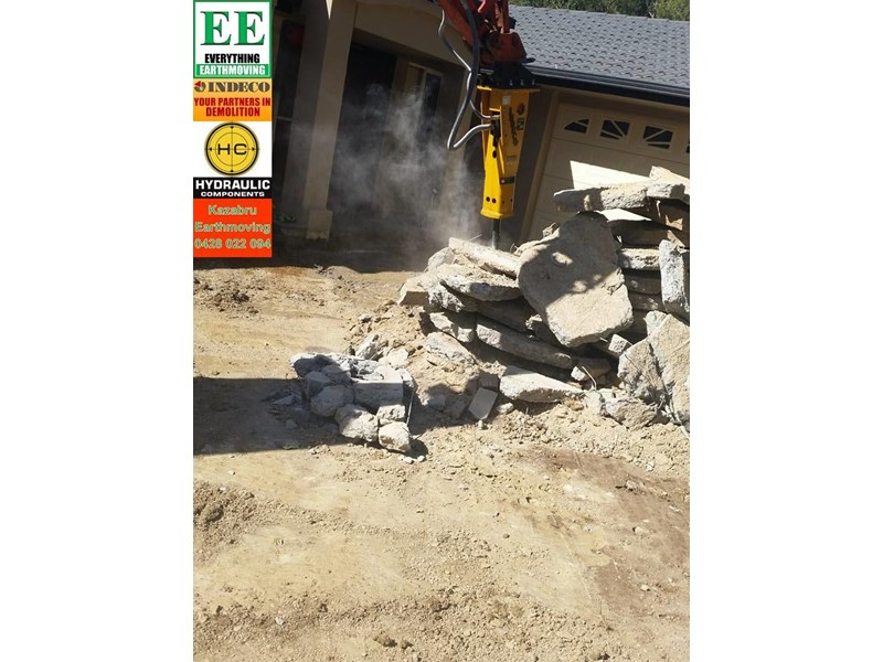 indeco hp200 whisper rock breaker from everything earthmoving 356955 011