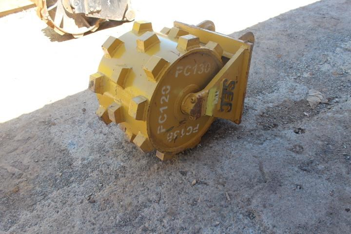 sec compaction wheel suit 12-16 tonne excavator 356967 002
