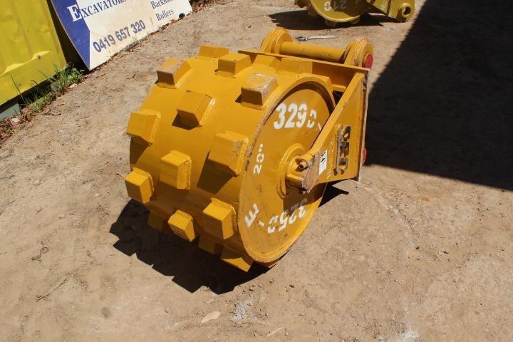 sec compaction wheel suit 25-30 tonne excavator 356971 001