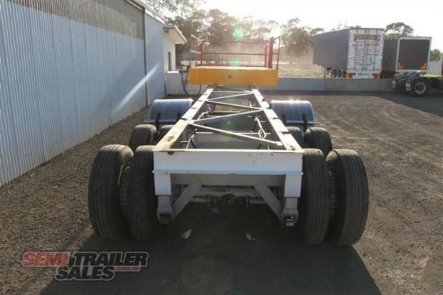 maxitrans semi drop deck skel semi trailer 347766 008