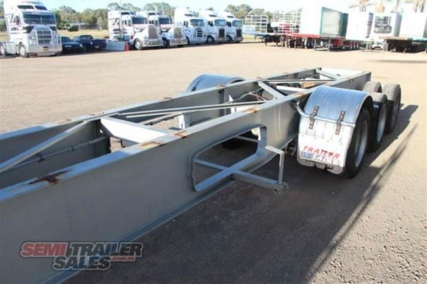 maxitrans semi drop deck skel semi trailer 347766 009
