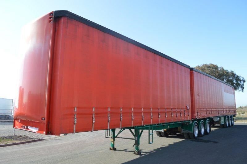maxitrans st3 tri axle 36 pallet sd b/double 2.88mt high 358345 001