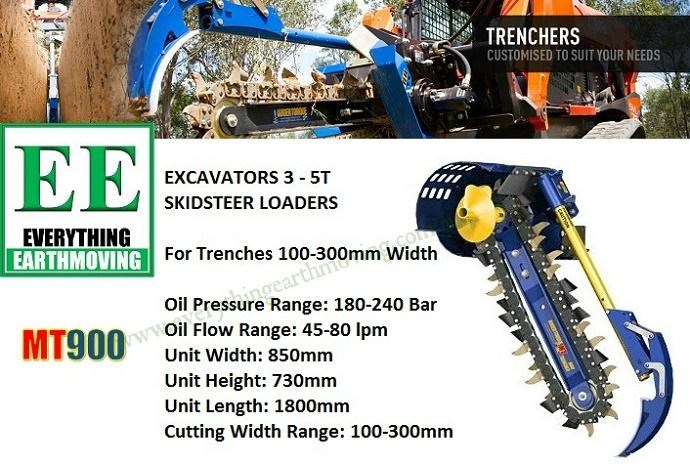 auger torque auger torque ee mt900 trencher is designed to suit mini loaders, skid steers loaders upto 80hp and mini excavators 2.5 to 5 tonnes 358427 013