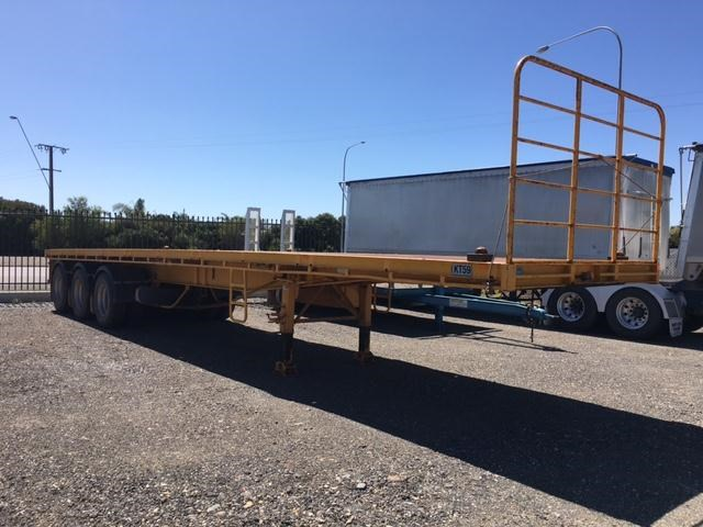 southern cross tri- axle 41ft flat top trailer 361521 002