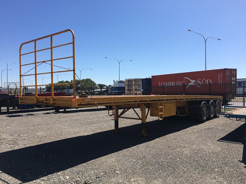 southern cross tri- axle 41ft flat top trailer 361521 001