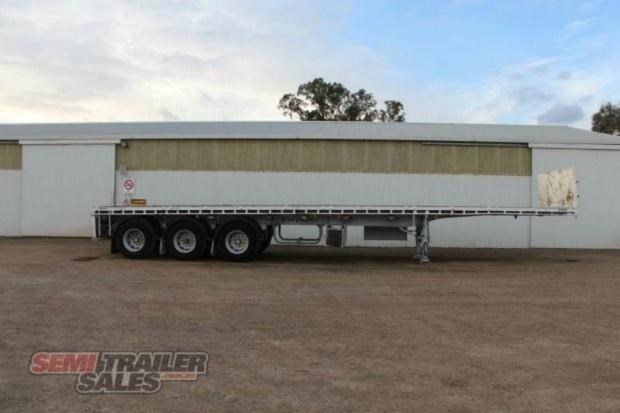 vawdrey semi 41ft flat top semi trailer 322730 001