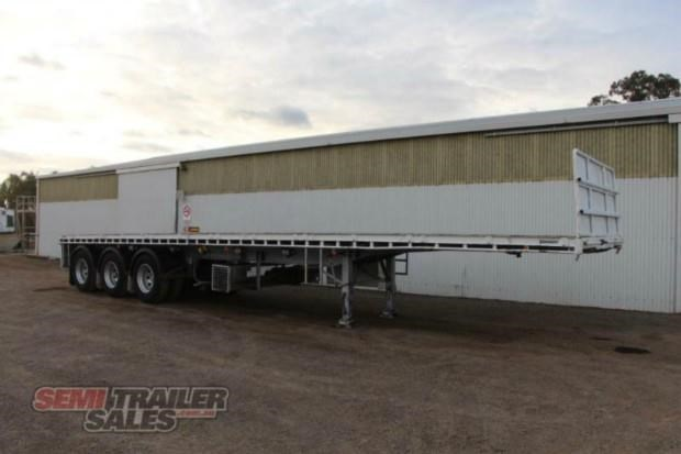 vawdrey semi 41ft flat top semi trailer 322730 002
