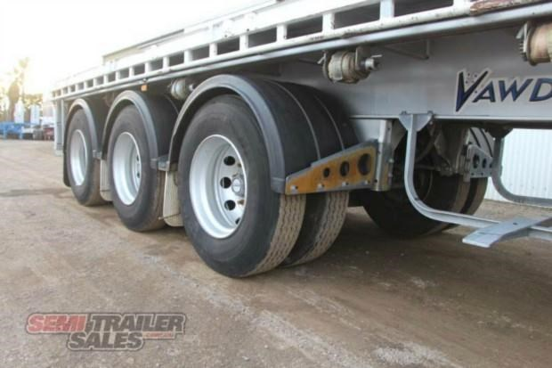vawdrey semi 41ft flat top semi trailer 322730 005