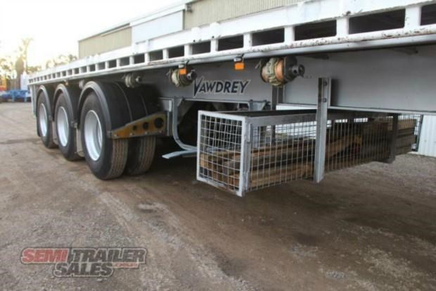 vawdrey semi 41ft flat top semi trailer 322730 006