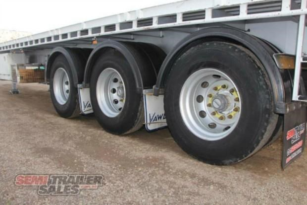 vawdrey semi 41ft flat top semi trailer 322730 010