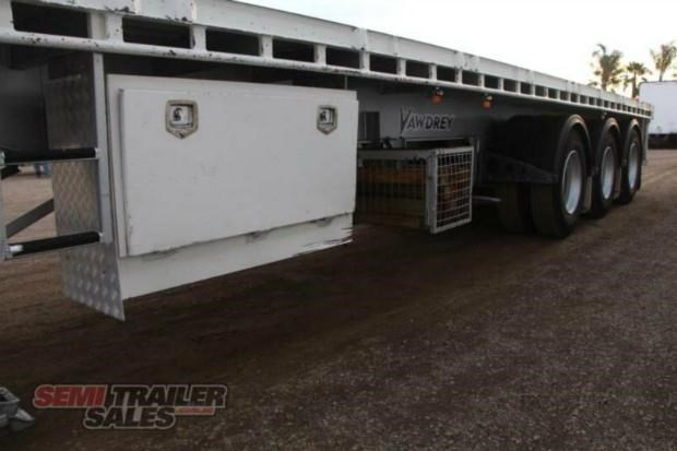 vawdrey semi 41ft flat top semi trailer 322730 011