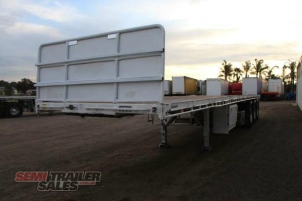 vawdrey semi 41ft flat top semi trailer 322730 012
