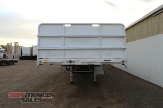 vawdrey semi 41ft flat top semi trailer 322730 013