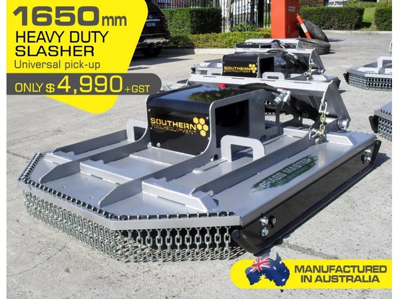 rhino [5' feet] 1650mm loader /skid steer/skid steer loader brush cutter / slasher attachment.[attslash] 236311 003