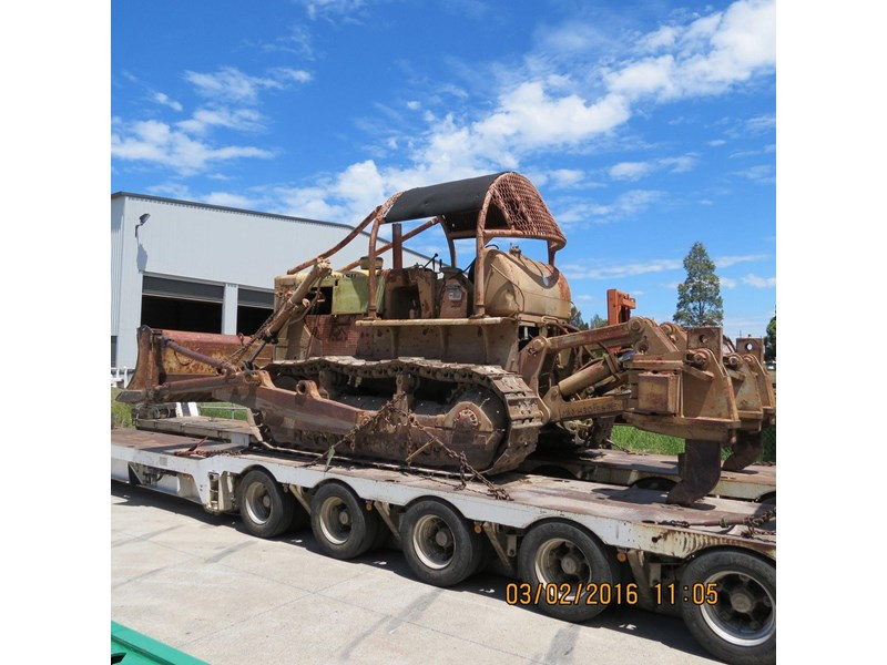 komatsu d85a-12 just arrived for dismantling. 365529 001