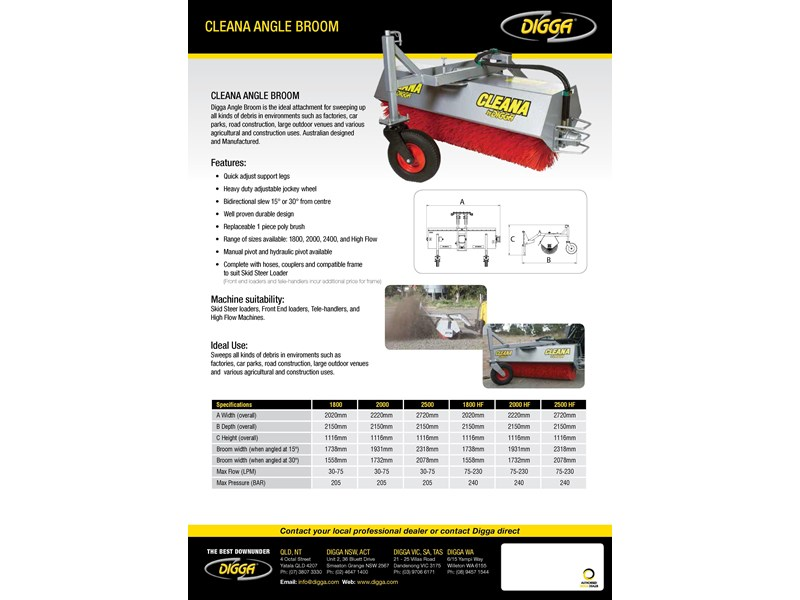 digga cleana angle broom 367654 004