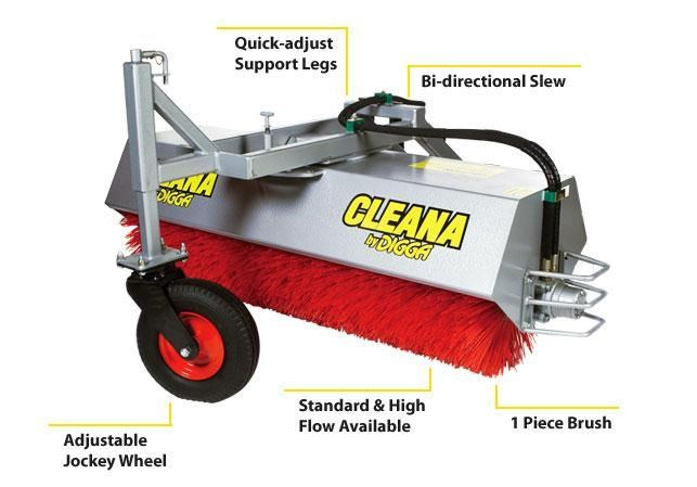 digga cleana angle broom 367660 001