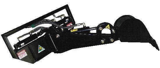 digga mini slewing front hoe 367700 001
