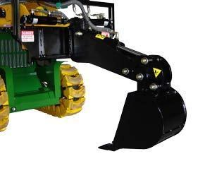 digga mini slewing front hoe 367700 002
