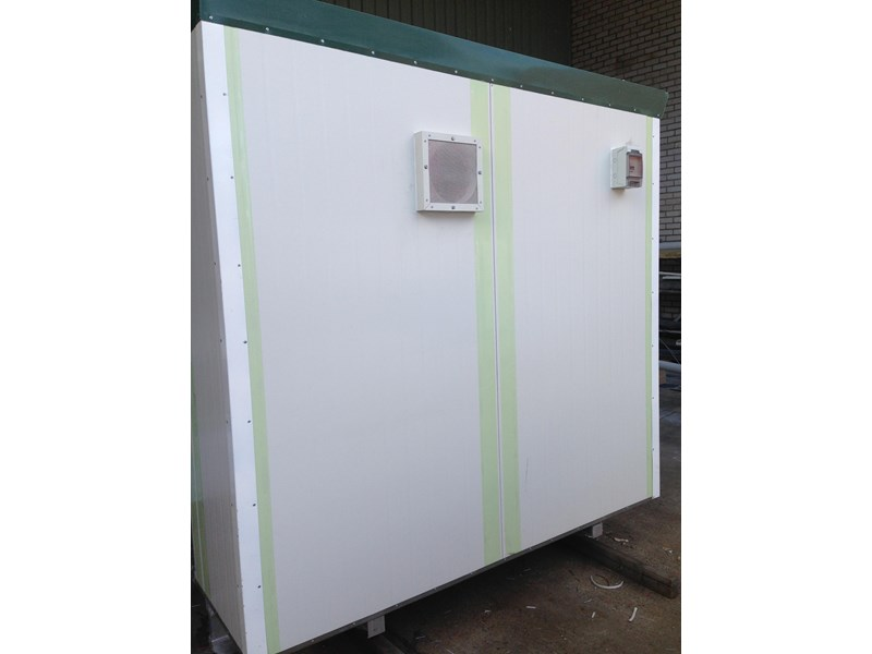e i group portables 2.4m x 2.4m twin pan double portable building. 368112 002